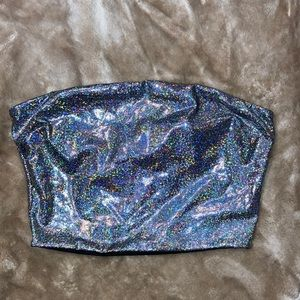 Windsor sparkly strapless tube top size small S
